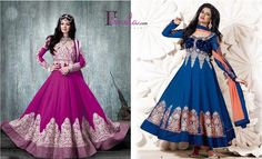 Shop online from latest & beautiful collection of Anarkali suits, Long Anarkalis & Salwaar kameez online at fmela.com