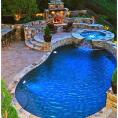 Backyard hot tub a pinterest collection by jane kenny for Kenny pool design