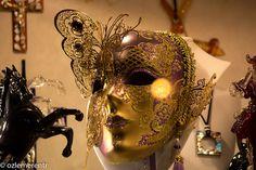 Venetian Carnival Mask by ozlemerentr, via Flickr