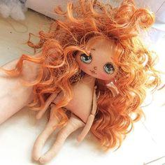 Рыыыжее солнышко;) #кукла #куколка #куклаолли #олли