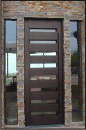 Puerta moderna metal