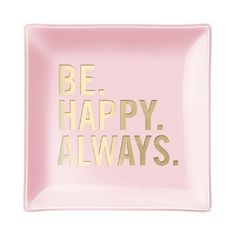 Fringe Happy Always Small Square Tray | Bloomingdale's