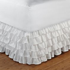 I pinned this Multi-Ruffle King Bed Skirt from the 4 Men 1 Lady event at Joss and Main!