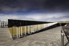Giants Causeway Visitor centre plans architecture - Detalles