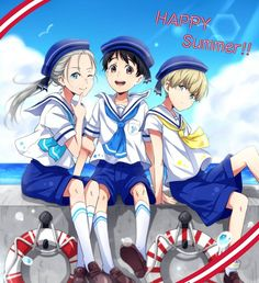 """いいね!1,322件、コメント19件 ― 勝生 勇利さん(@http_yuuri.katsuki)のInstagramアカウント: 「""""Happy Summer!!~""""☉⛱ ⬇⬇⬇ ©Credits: @レシカ / resika1418 on Twitter …」"""