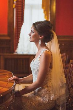 bridal veil hairstyles 11