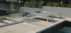 contemporary pool decks | Modern Pool Deck Tiles
