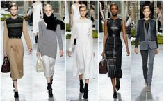 Lo mejor del New York Fashion Week  Colección O-I 2014/15