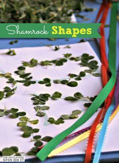 Shamrock Shapes for St. Patrick's Day
