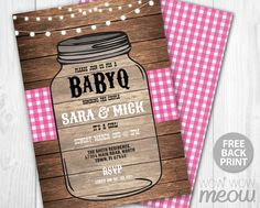 7 x 5 inch INSTANT DOWNLOAD customizable Baby Shower PDF invite. > Edit the text instantly at home using the FREE program Adobe Reader. > Print at
