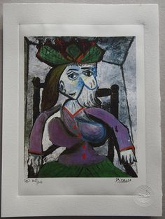 Pablo Picasso Special Edition Art by ValueVintagePrints on Etsy