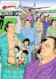 Shintaro Kago –  strange and twisted illustrations