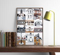 Manchester Art Prints - Artwork - Unique Art from Manchester Artists Manchester Art, All Print, Unique Art, Photo Wall, Design Ideas, Interiors, Interior Design, Artist, Artwork