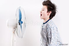boy near the ventilator - Buy this stock photo and explore similar images at Adobe Stock Tower Fan, Royalty Free Stock Photos, Boys, Pictures, Image, Baby Boys, Photos, Senior Boys, Sons
