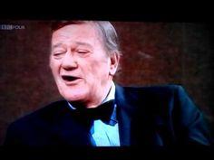 John wayne- rare interview 1974 - YouTube
