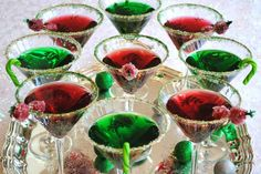 Guests Will Love These Festive Christmas Martinis | Pineapples & Palm Trees
