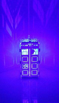 Doctor Who Tardis Bad Wolf Edition Night Light Tea Lamp Dr Who | eBay