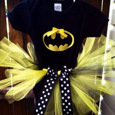 Batman baby/toddler costume with tutu on Etsy, $35.00