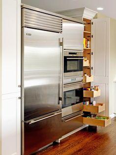 20 Smart Kitchen Storage Ideas : Page 05 : Rooms : Home & Garden Television