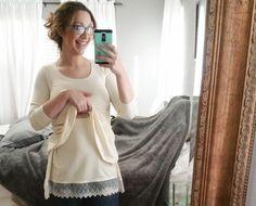 Diy sewing nursing breastfeeding friendly shirt top blouse tshirt cute stylish tutorial blog patterns for Pirates