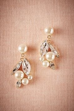 These Portia Earrings would go perfectly with my wedding dress! @BHLDN #BHLDNwishes