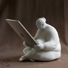 The Venus of Cupertino is a fun iPad docking station.