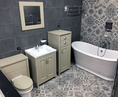 We have some fab new displays on at our North Shields store! Come visit our showroom and take a look, with over 250 bathroom/shower displays! North Shields, Old London, Bathroom Inspo, Bathroom Furniture, Corner Bathtub, Showroom, Shower, Rain Shower Heads, Corner Tub