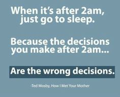 Ted Mosby is a genius
