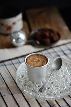 Coulants à la crème de marrons et truffes au chocolat