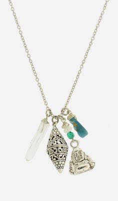 Filigree Buddha Necklace