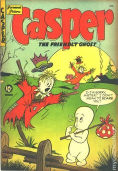 CASPER THE FRIENDLY GHOST 4, PARAMOUNT PICTURES, GOLDEN AGE COMIC