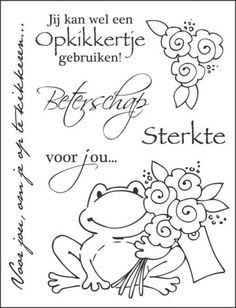 frog with flowers Prima Doll Stamps, Cute Coloring Pages, Sketch Notes, Card Sentiments, Doodle, Marianne Design, Art Drawings Sketches, Digital Stamps, Clear Stamps