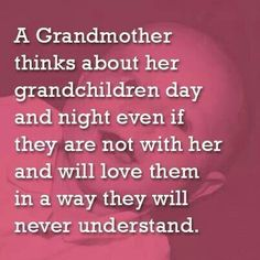Love my grandchildren more than words can express