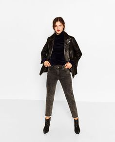 MOM HIGH WAIST JEANS-View all-JEANS-WOMAN | ZARA