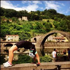 Ponte del Diavolo, Lucca, Tuscany, Italy. | Pedal. Stretch. Breathe. Tantalizing Tuscany. 11 -18 June 2016. Places available. Check the website for details. Link in profile.  #soulfitadventures #cycling #yoga #Italy