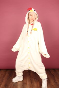 teen onesies, PJs, and accessories all at Onesieful.com Premium Clucking Chicken Onesie | Onesieful