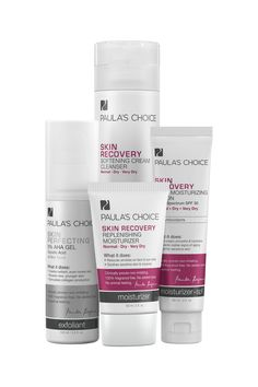 This 4-product kit includes the core products to kick dry, flaky skin to the curb, and is gentle enough for even those with extra-sensitive skin.