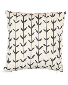Skinny Laminx Orla Cushion Cover- Black. 18.5 square, fits 20 square. $25