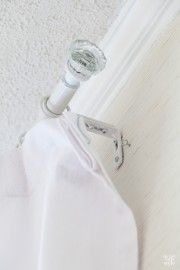 Curtain hanging tips from the pros... Fix curtain side gap