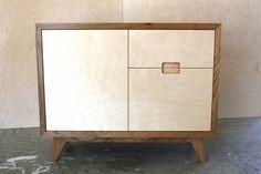 Elm and Birch plywood Sideboard – Make Furniture