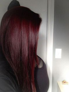 trendy hair dark red ombre burgundy - All For Hair Color Balayage Hair Color Auburn, Auburn Hair, Hair Color Dark, Ombre Hair Color, Hair Color Balayage, Color Red, Burgundy Colour, Hair Colors, Dark Red Balayage