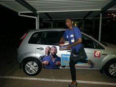 Lindeka's book obsession just got real! #RealityCheck_SA #etvSA #BrandyourcarSA