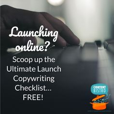 The Ultimate {FREE} Launch Copywriting Checklist So Your Launches are Seriously Stress-free and Supremely Profitable