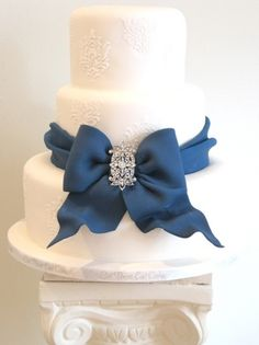 ribbon with clip-on embellishments This would be beautiful in purple Casey @Casey Poppy