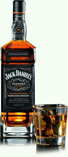 Jack Daniel's Sinatra Select - Litre Bottle : The Whisky Exchange Whiskey Drinks, Cigars And Whiskey, Scotch Whiskey, Bourbon Whiskey, Whiskey Bottle, Tequila, Fun Drinks, Alcoholic Drinks, Beverages