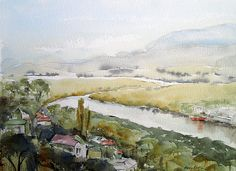 Tamar River from West Launceston, 2004 by Harry Kent, via Flickr