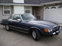 1981 MBZ 500 SL CONVERTIBLE - $ 8995 (SANTA BARBARA)