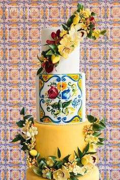 Modern Wedding Cakes Weddings At The Royal Conservatory Of Music Archives - Wedding Decor Toronto Rachel A. Wedding Favors, Wedding Events, Wedding Decorations, Wedding Rings, Wedding Ideas, Wedding Cake Toppers, Wedding Cakes, Lemon Party, Wooden Cake Toppers