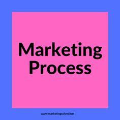 Marketing Process Marketing Process, Social Media Content