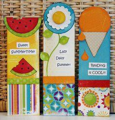 Kids Crafting – Summer Bookmarks